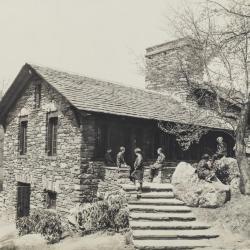 Great Hall Kitchen Entrance, print 1