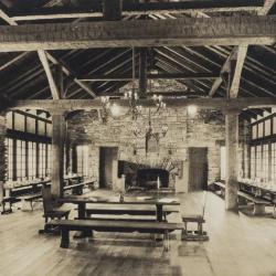 Interior of Great Hall, print 1