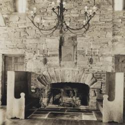 Great Hall fireplace, print 1
