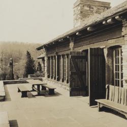 Great Hall Terrace, print 1